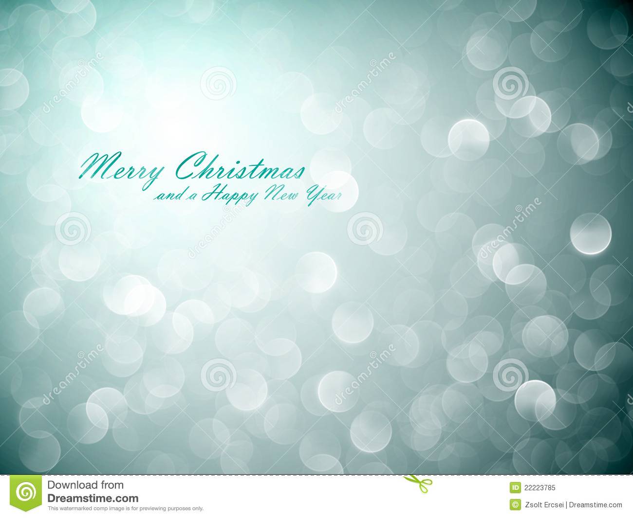 Flickering Lights   Christmas Background   Eps10 Vector With Separate