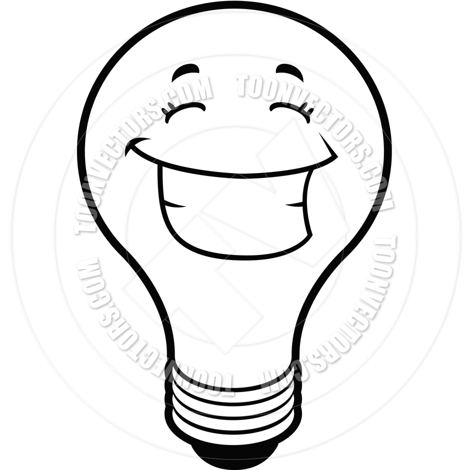 Light Bulb Black And White Clipart - Clipart Suggest