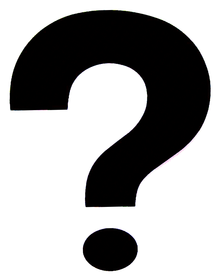 Question Mark Clip Art Black And White Png Question Mark Black Jpg