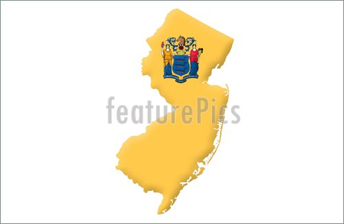 State Of New Jersey Illustration  Royalty Free Illustration At