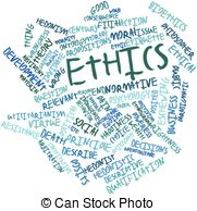 Word Cloud For Ethics   Abstract Word Cloud For Ethics With