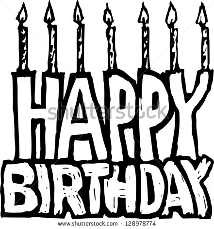 Black And White Happy Birthday Signs Pictures to Pin on ...