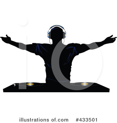 Dj Clipart  433501   Illustration By Elaine Barker