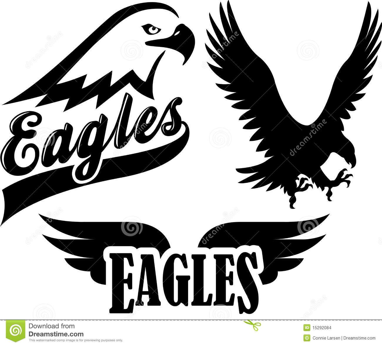 free eagles football clipart - photo #37