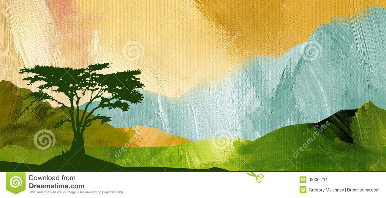 Graphic Abstract Mountain Range Background Stock Illustration   Image