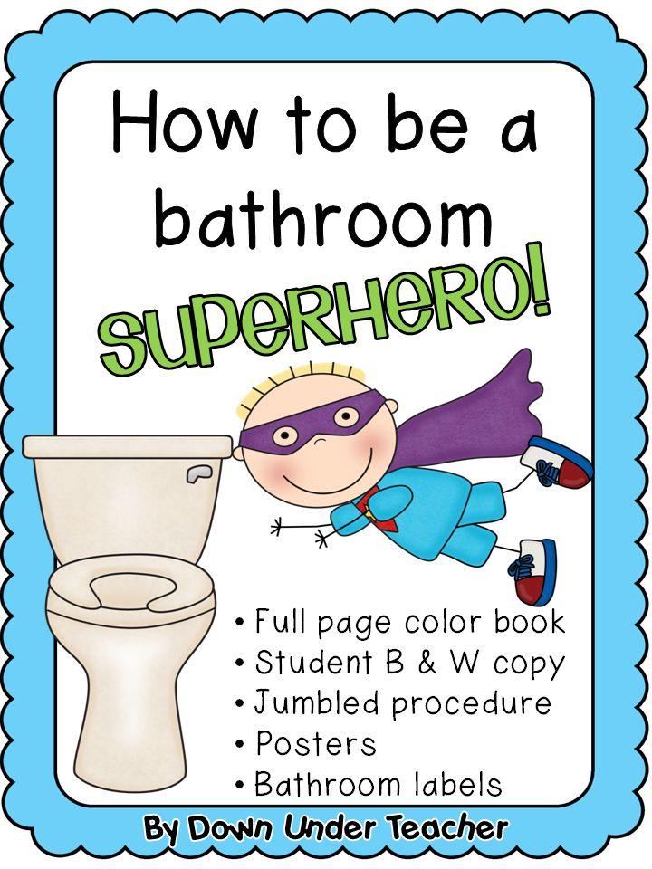 Clip Art School Restroom Rules Clipart Clipart Kid