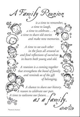 Kitchen Quotes On Family Reunion Poem 1 19 Beyond Scrapbooks Beautiful
