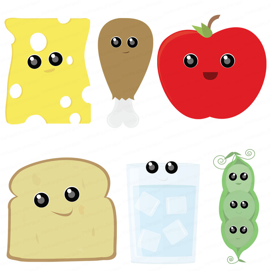 Cute Healthy Snacks Clipart - Clipart Suggest