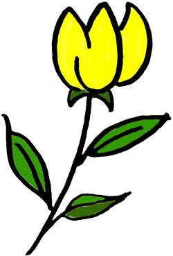 Clipart Tulip Posted By Nathanial Shouse