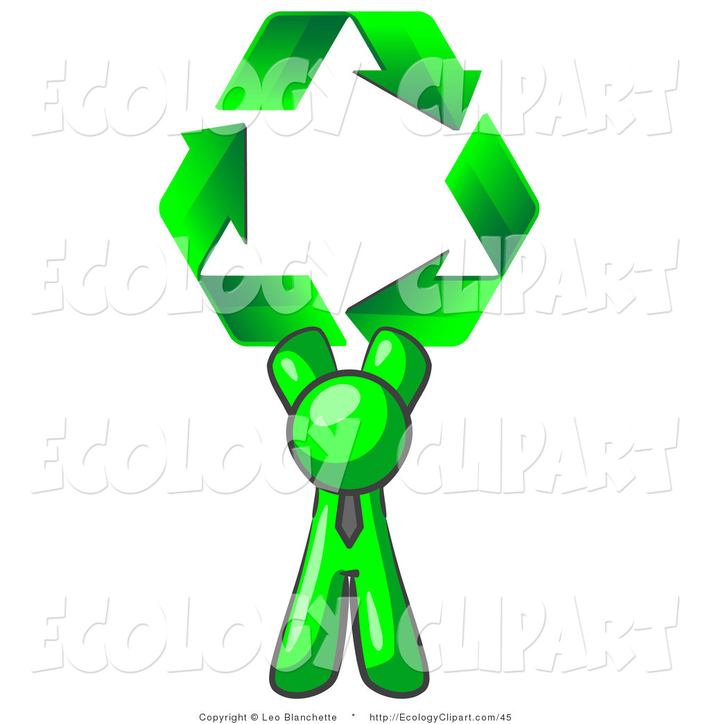 Green Man Clip Art