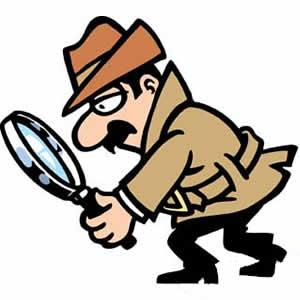 Private Investigator Clip Art