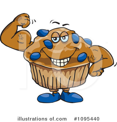 More Clip Art Illustrations Of Muffin