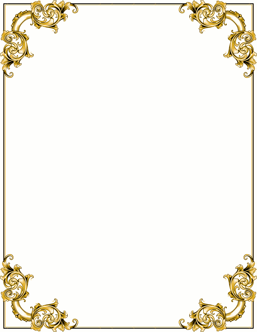 Gold Frame Clipart - Clipart Kid