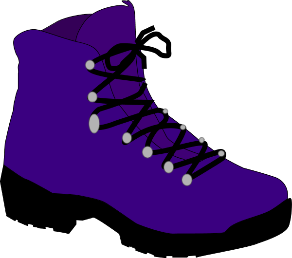 Safety Boots Vector Clip Art