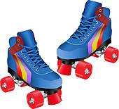 Skate Clip Art Royalty Free  4955 Skate Clipart Vector Eps