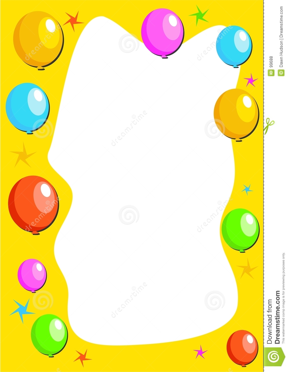 Birthday Party Clip Art Borders   Clipart Panda   Free Clipart Images