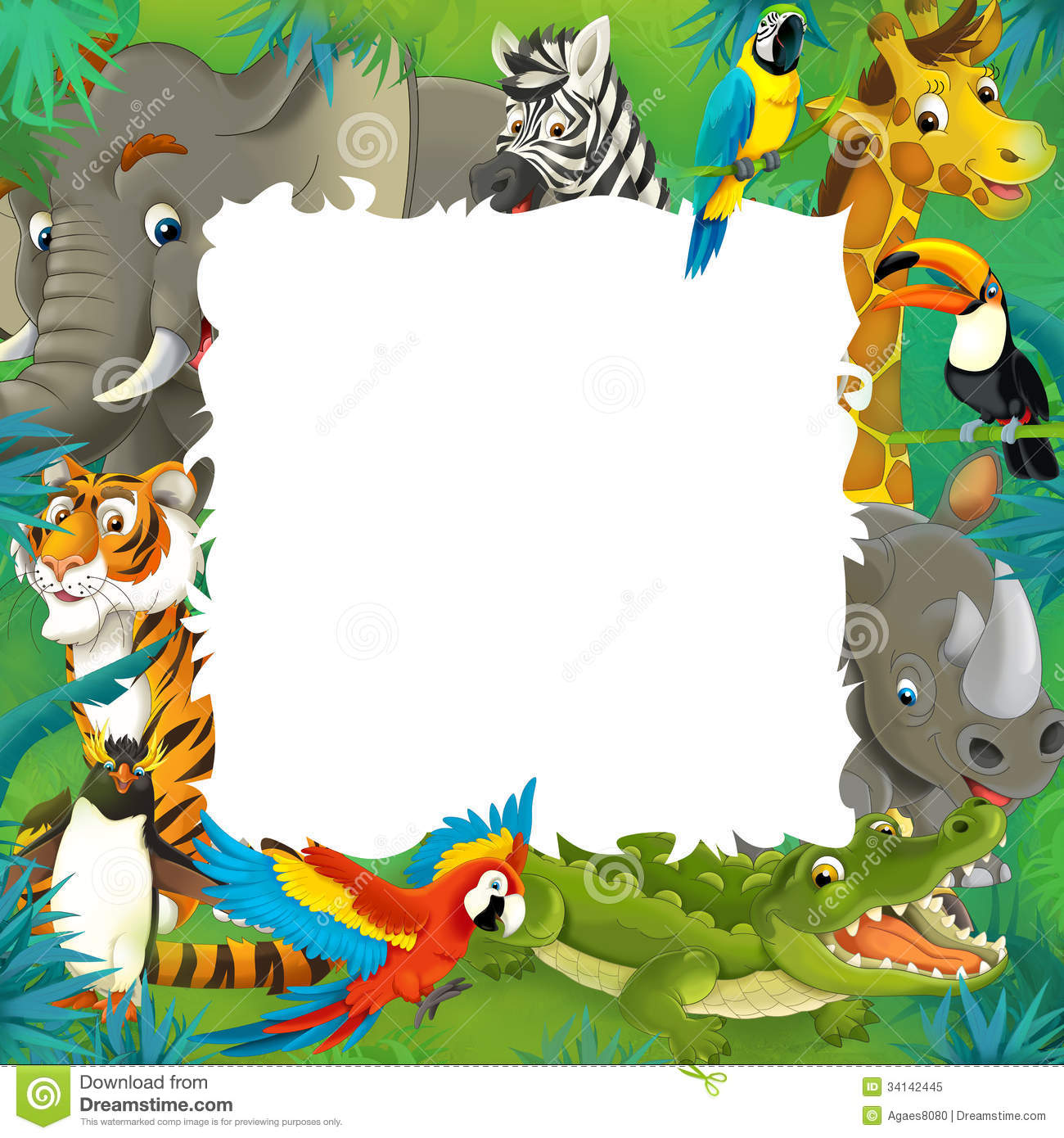 Jungle Themed Birthday Party Invitations with best invitation ideas