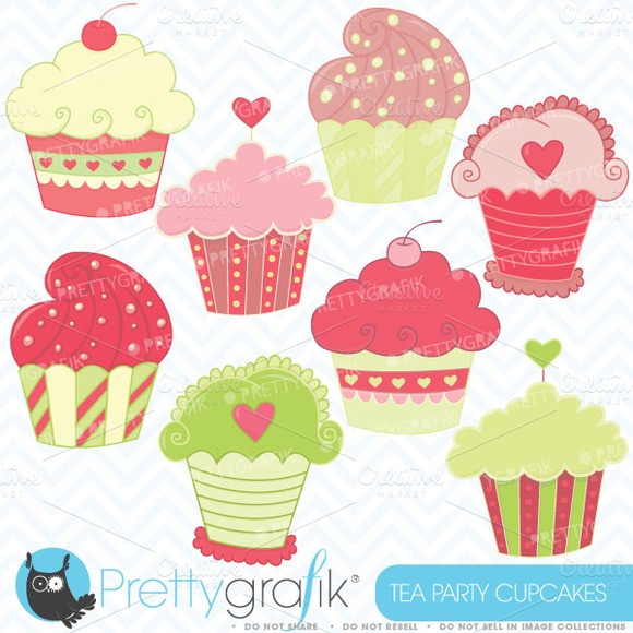 Cute Cupcake Clipart - Clipart Kid