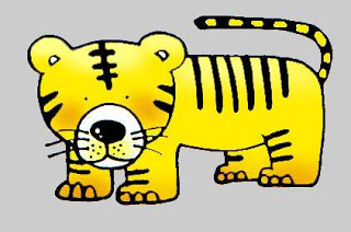 Funny Tiger Cartoon Animal Free Clipart   Free Microsoft Clipart