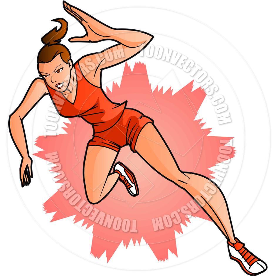 Running Track Clipart