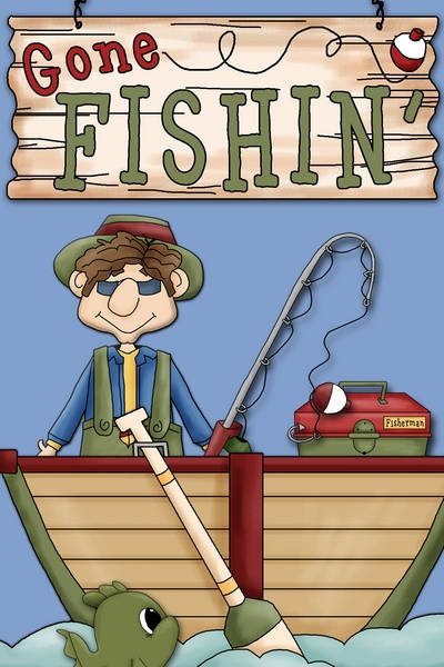 Gone Fishing' Clipart - Clipart Suggest