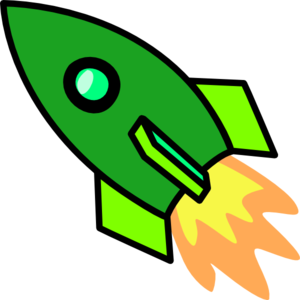 Green Rocket Clip Art At Clker Com   Vector Clip Art Online Royalty