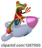 Green Rocket Clipart