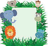 Jungle Clipart And Stock Illustrations  4193 Jungle Vector Eps