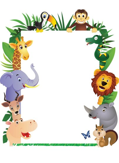 Jungle Theme Clipart - Clipart Kid