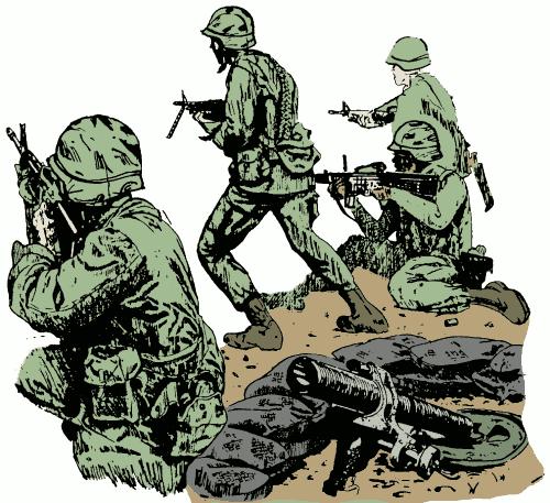 military clip art army - photo #34