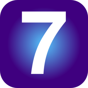 Number 7 Clip Art At Clker Com   Vector Clip Art Online Royalty Free
