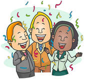 Office Celebrate Clipart Office Celebration   Royalty