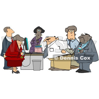 Office Holiday Party Clipart Clipart Businessman Blowing