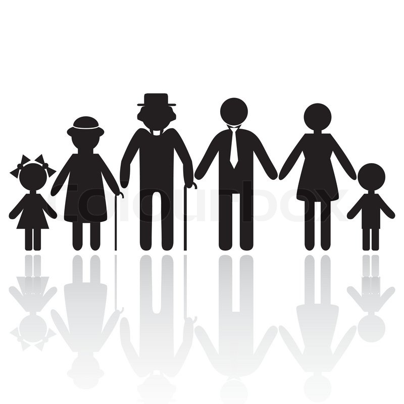 Family Generation Men Clipart - Clipart Kid