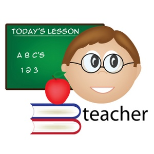 School Teacher Clip Art Images School Teacher Stock Photos   Clipart