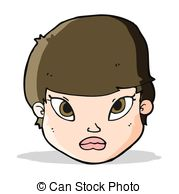 Serious Face Vector Clipart Eps Images  860 Serious Face Clip Art
