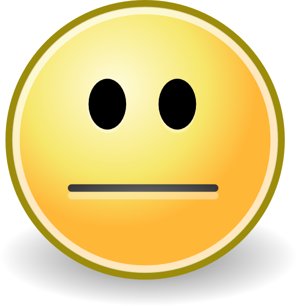 Straight Line Face Clip Art : Serious face clipart suggest