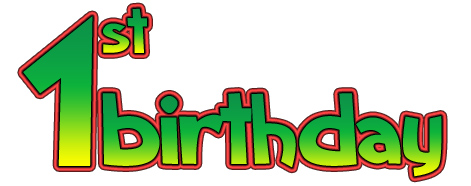 First Birthday Clipart - Clipart Kid