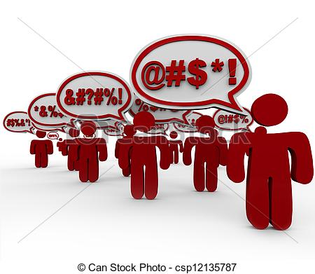Angry Mob   An Angry Mob Of    Csp12135787   Search Eps Clip Art