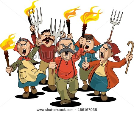 Angry Mob Stock Photos Images   Pictures   Shutterstock
