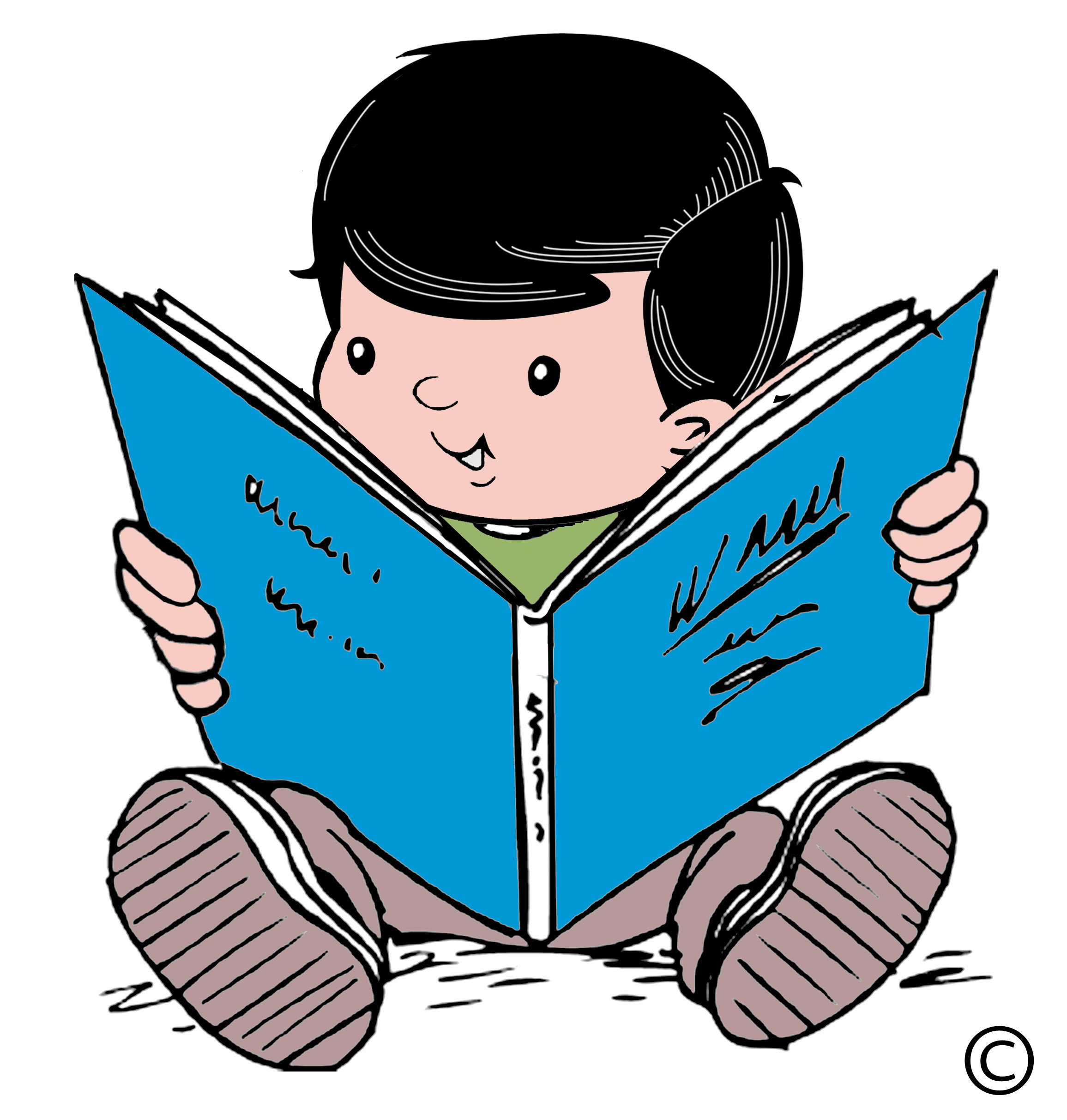 Reading Free Clipart - Clipart Kid