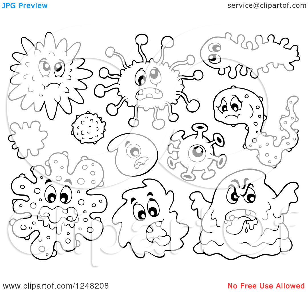 germ coloring pages - photo#16