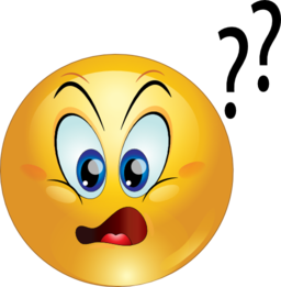 Confused Emoticons Clipart - Clipart Kid