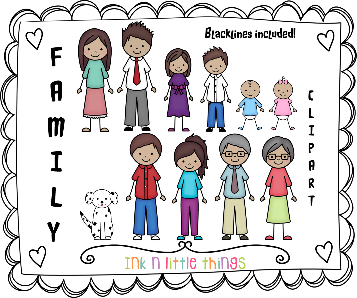 Family Word Clipart Clipart Panda Free Clipart Images
