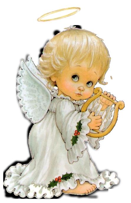 Cute Angel Free Clipart - Clipart Kid