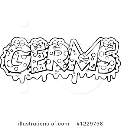 Germs Clipart  1229758   Illustration By Cory Thoman