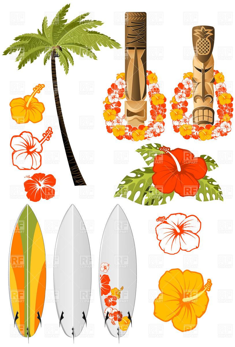 Pics  Word Hibiscus Surfboard Beach