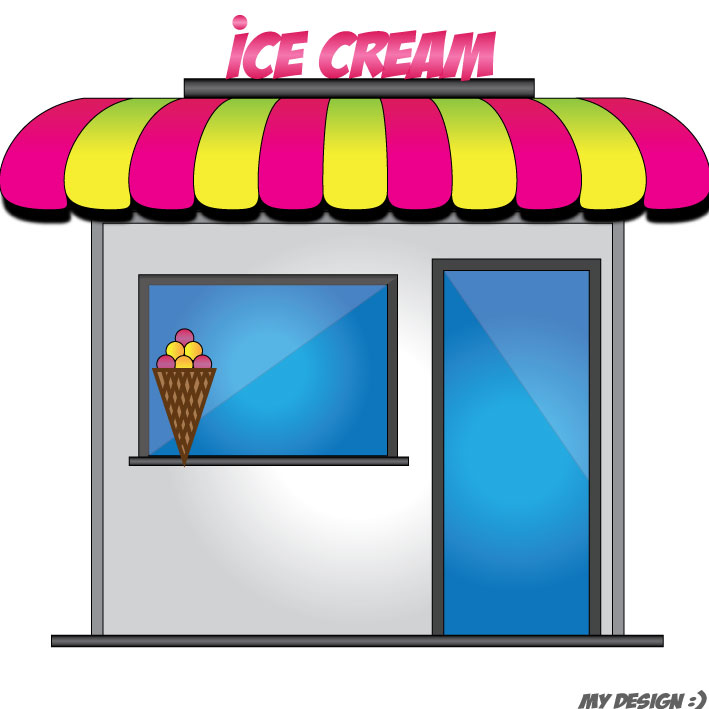 Ice Cream Shop Clipart - Clipart Suggest