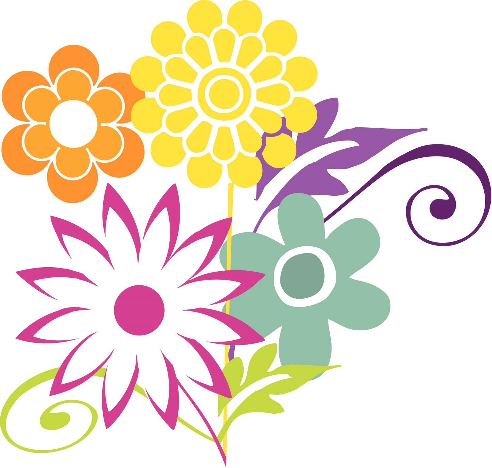 Mother's Day Flower Clipart - Clipart Suggest