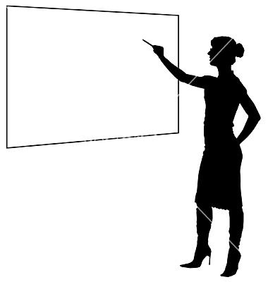 Eyes On Teacher Clipart
